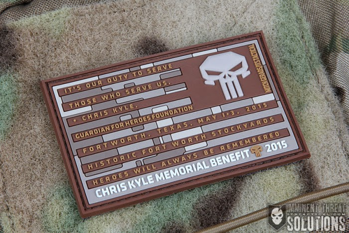Punisher Memorial Patch.