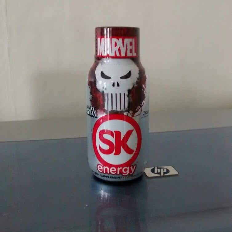 Punisher Energy Drink.