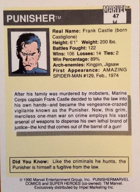 Back of the card.