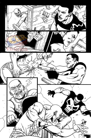 Another preview of Punisher #1