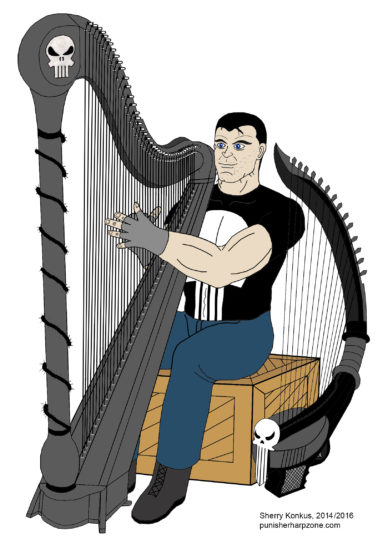 The Punisher and his harps (Modified)