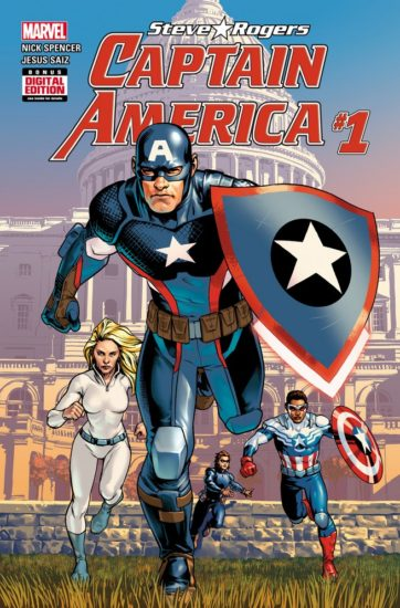 Cover to Captain America: Steve Rogers #1