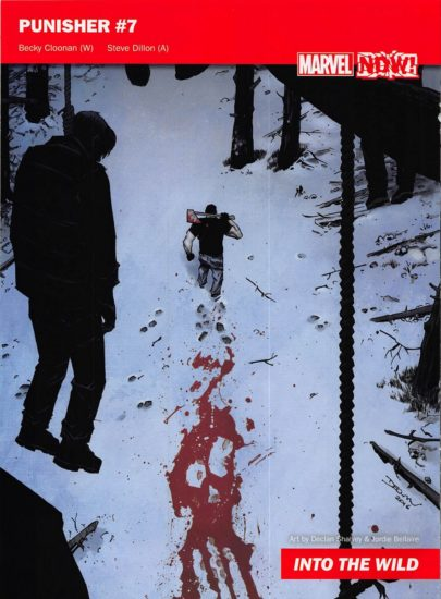 The Cover to Punisher #7