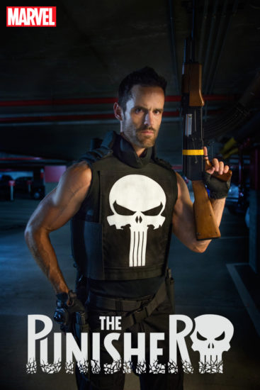 The Punisher #6 Cosplay Variant Cosplay by Mike-Powell