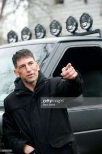 On the set of The Punisher 2